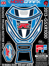 Suzuki GSXR 1000 2013 One Million Edition Motorcycle Tank Pad 3D Gel Protector