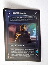 Star Wars CCG - Reflections II -  DS FOIL - Bossk with Mortar Gun