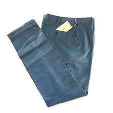 J-1529963 New Brioni Tigullio Pleat Corduroy Dress Pants Trousers Size 32