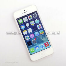 Apple iPhone 5 16GB White/Silver Factory Unlocked SIM FREE Grade A Excellent