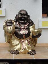 Glückbuddha Sehr Groß Happy Buddha Figur Statue Dekoration Möbel Skulptur Deko