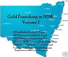 CD-  Gold - NSW Forest Fossicking Vol.1 - 93+ eBooks & Maps (Resell Rights)