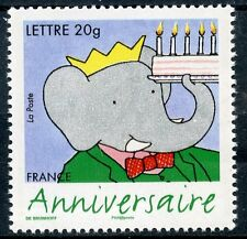 STAMP / TIMBRE FRANCE  N° 3927 ** ANNIVERSAIRES / ELEPHANT BABAR