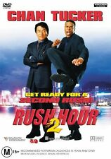 Rush Hour 02 (DVD, 2002) Jackie Chan, Chris Tucker