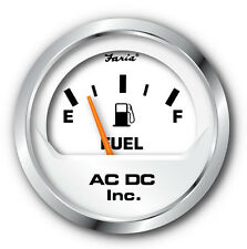 """Faria-Beede Fuel Level Gauge for Boats and Tractors, American Resistance 2"""""""