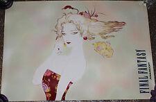 RARE Final Fantasy VI Playstation Promo Poster Terra Branford Squaresoft PSX 6