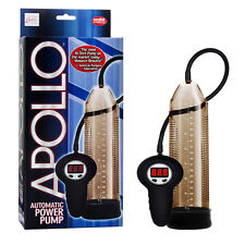 APOLLO AUTOMATIC VACUUM POWER PENIS PUMP SMOKE HIGH TECH BUTTON CONTROLLED