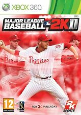MAJOR LEAGUE BASEBALL 2K11                        -----   pour X-BOX 360