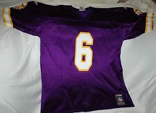Rare Bubby Brister jersey! Minnesota Vikings LARGE NEW! NFL vintage throwback!