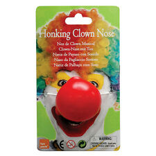 #clown naso VINILE materiale HONKING Costume Bambini PARTY ACCESSORIO