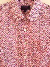 $150 J.CREW Liberty Art Fabrics Peter-Pan Shirt In Saeed Floral Style 43500 0