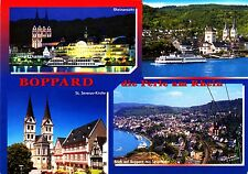Boppard , die Perle am Rhein , Ansichtskarte