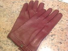 Vintage Etienne Aigner Women's Leather Gloves Size 8 New with tags