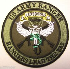 """United States (US) Army Ranger """"Rangers Lead the Way"""" Patch (Subdued)"""