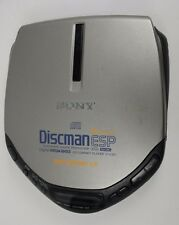 Sony Discman ESP Digital Mega Bass D-E301 1 bit DAC Portable CD Player