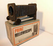 PRINZ 35mm M42mm vis macro bellows, boxed.