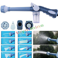 8in1 Multi Function Jet Water Soap Cannon Dispenser Nozzle Spray Gun Cleaning