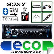 Peugeot 206 Sony CD MP3 USB Bluetooth Handsfree Ipod Iphone Radio Stereo Kit