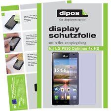 1x lg p880 Optimus 4x HD lámina protectora mate protector de pantalla antireflex