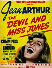 Devil and Miss Jones - Fab 1941 film - Jean Arthur - plus 2 bonus movies! - DVD