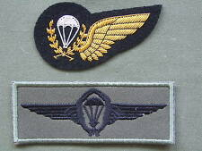 2 Unknown Parachute Wings