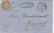 Thurn und Taxis, Brief aus Bremen nach Hersfeld, Michel Nr. 31