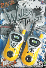BATTERY OPERATED WALKIE TALKIE SET RADIO CONTROL WITH ANTENNA GIFT TOY FOR KIDS