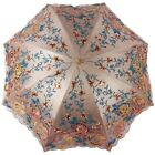 New Women Luxury Embroidery lace Anti UV Folding Sun Rain Parasols Umbrellas