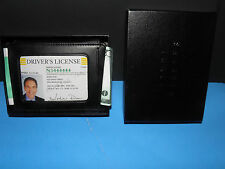 CREDIT CARD/MONEY CLIP DEEP POCKET P-BLACK