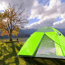 Gazelle Ultralight Camping Hiking Double Layers Tent w/ Rainfly Aluminum Poles