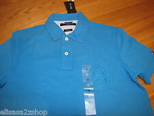 Men's Tommy Hilfiger Polo shirt NWT XXL Slim Fit NEW 7827263 Reef Turquise 461