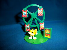 M&M's FERRIS WHEEL RIDE Yellow Figurine CARNIVAL FAIR French Pocket Surprise M&M