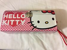 2011 sanrio Hello Kitty - Head and Hearts Metal Purse Tin Tote  brand new