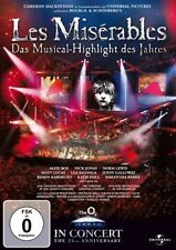 LES  MISERABLES Musical 25TH ANNIVERSARY CONCERT DVD Neu
