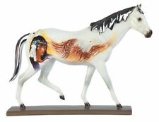 12 Inch Native American White Horse Animal Figurine Statue Collectible Wild