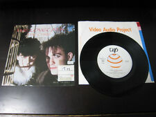 Cure The Lovecats Japan Promo White Label Vinyl 7 inch Single Robert Smith Goth