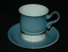 BEAUTIFUL DENBY STONEWARE CUP & SAUCER CASTILE PATTERN