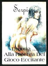 Serpieri : Druuna .. alla ricerca del gioco eccitante - Cofanetto 10 cartoline