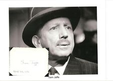 Sam Jaffe  Autograph The Asphalt Jungle Lost Horizon Day the Earth Stood Still
