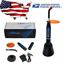 Dental  Lab 10W Wireless Cordless LED Curing Light Lamp Machine 2000mw US Sale