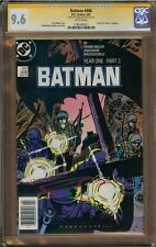 Batman #406 CGC 9.6 SS Signed FRANK MILLER Year One
