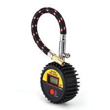 Motorcycle Car Bike 300 PSI Digital Tire Tyre Air Pressure Gauge Meter Tester MW