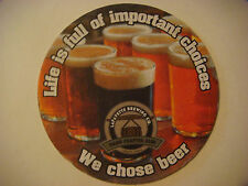 Beer Coaster ~*~ LAFAYETTE Brewing Co Star City Lager ~ Micro Brewery Since 1993