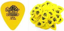 Dunlop Guitar Picks Tortex  72 Pack .73 MM  Yellow Medium 418R73 auction sale