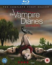 VAMPIRE DIARIES Complete Season 1 Blu Ray Series Box Set Brand New 1st First
