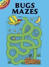 Dover Publications-Bugs Mazes (Dover Little Activity Books) by Newman-D'Amico,