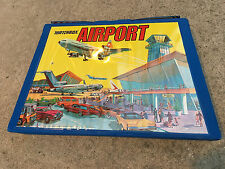 Amazing Matchbox Lesney Airport Set Nice Condition incl. Vintage Case and Cars