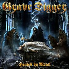 GRAVE DIGGER - HEALED BY METAL - CD DIGIPACK NEW SEALED 2017