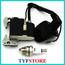 Ignition coil with spark plug for 49cc 2 stroke mini pocket bike mini dirt bike