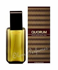 QUORUM by ANTONIO PUIG EAU DE TOILETTE FOR MEN 3.4oz 100ml NEW IN BOX *LOW SHIP